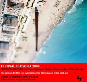 Invito Festival Filosofia 2009